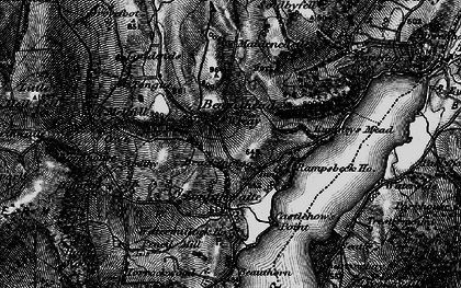 Old map of Tongue in 1897