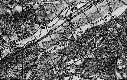 Old map of Wrecclesham in 1895