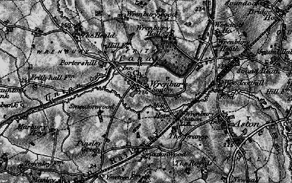 Old map of Wrenburywood in 1897