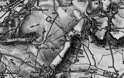 Old map of Wyck Place in 1895