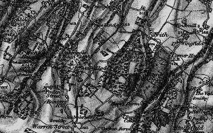 Old map of Wyebanks in 1895