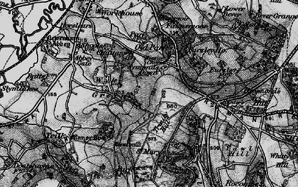 Old map of Wyke Green in 1898