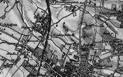 Old map of Wymans Brook in 1896