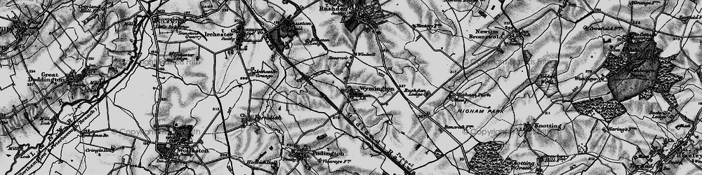 Old map of Wymington in 1898