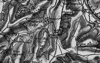 Old map of Wynford Ho in 1898