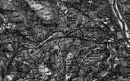 Old map of Wyre Forest in 1899