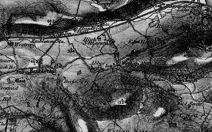 Old map of Wythop Moss in 1897