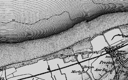 Old map of y-Ffrith in 1898