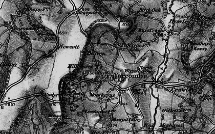 Old map of Yarcombe in 1898