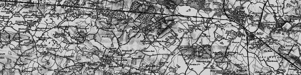Old map of Yardhurst in 1895