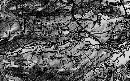 Old map of Wolfpits in 1899