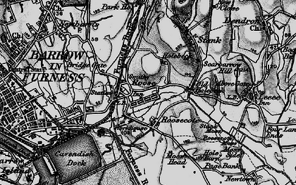 Old map of Yarlside in 1897