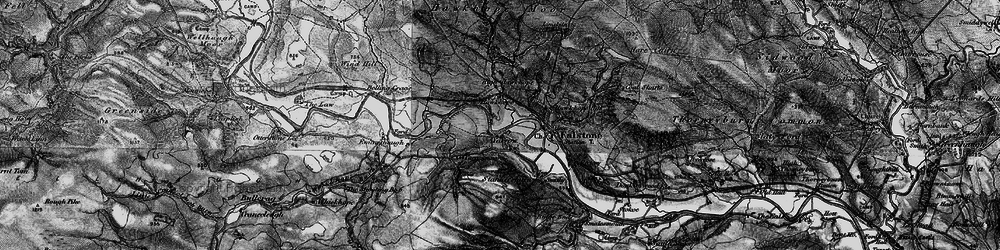Old map of Yarrow in 1897