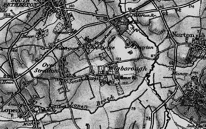 Old map of Yeabridge in 1898