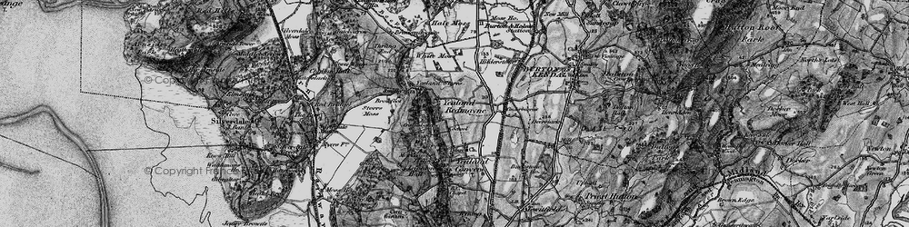 Old map of Yealand Redmayne in 1898