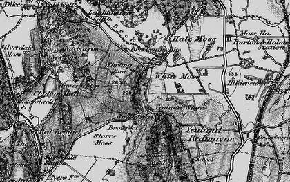 Old map of Leighton Beck in 1898