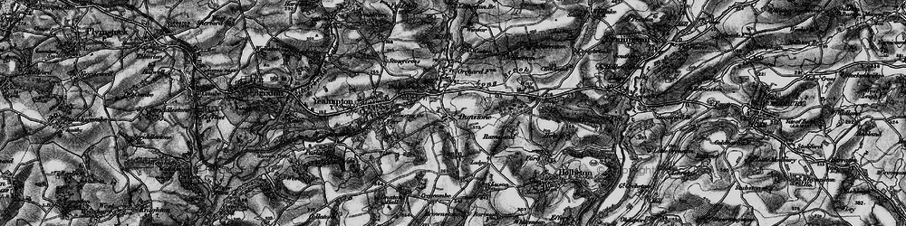 Old map of Yealmbridge in 1897