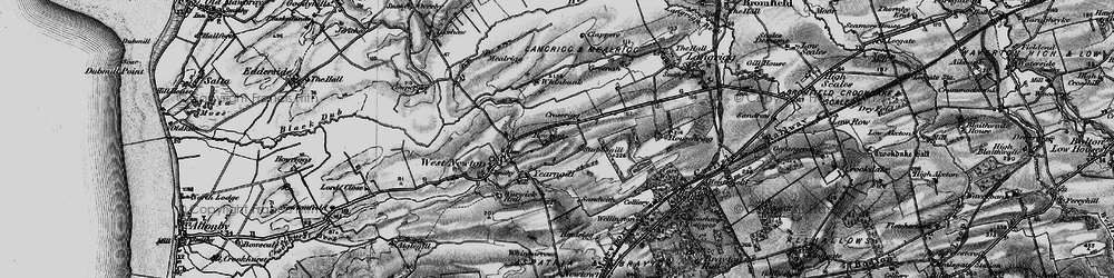 Old map of Yearngill in 1897