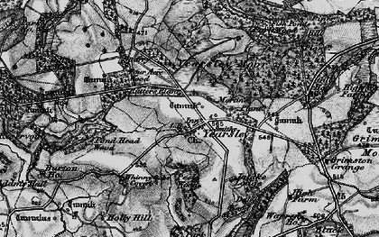 Old map of Yearsley in 1898
