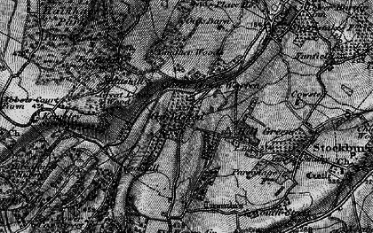 Old map of Yelsted in 1895