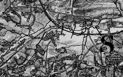 Old map of Yeoford in 1898