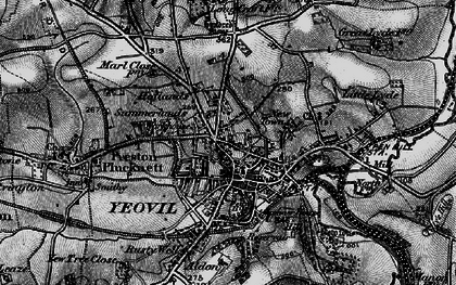 Old map of Aldon in 1898