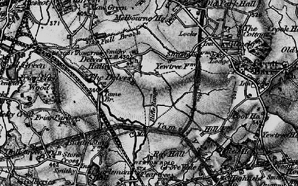 Old map of Yew Tree in 1899