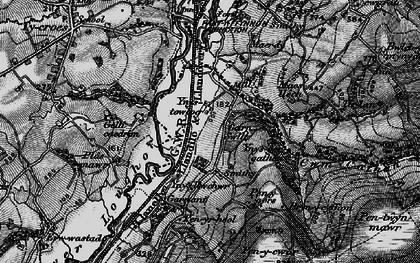 Old map of Ynus-tawelog in 1897