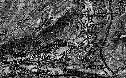 Old map of Ynyswen in 1898