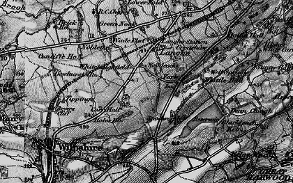 Old map of York in 1896
