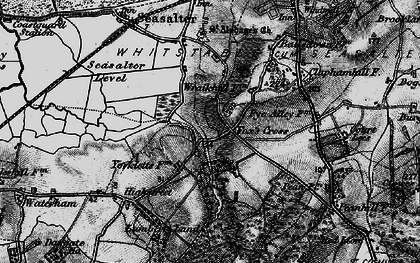 Old map of Yorkletts in 1895