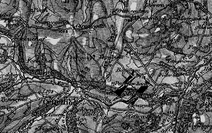 Old map of Ysgeibion in 1897