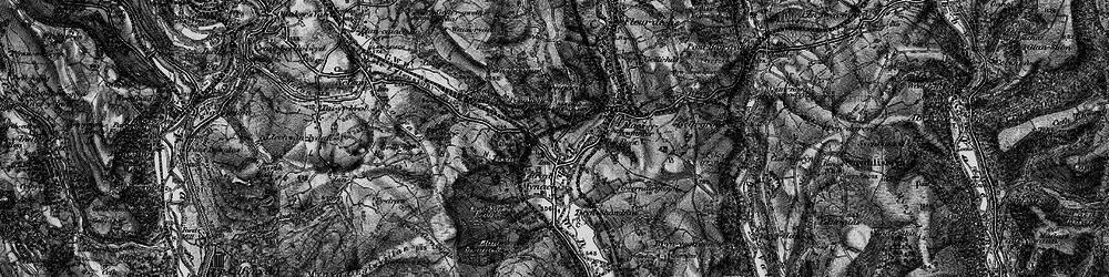 Old map of Ystrad Mynach in 1897