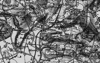 Old map of Ystradowen in 1897