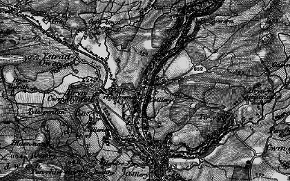 Old map of Ystradowen in 1898