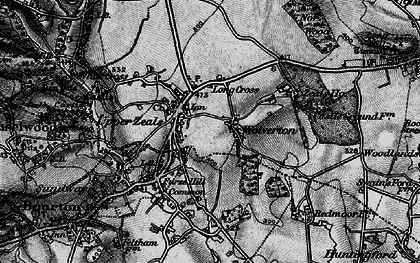 Old map of Zeals in 1898